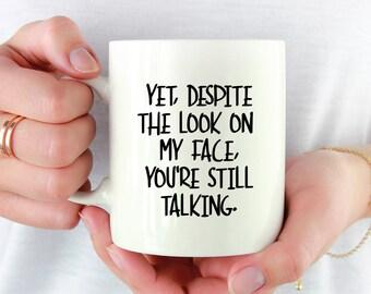 Coworker Mug - Mean Mug - Funny Gift Idea - Sarcastic Mug - Coworker Gift - Funny Coffee Mug - Birthday Gift for Coworker - Funny Mug