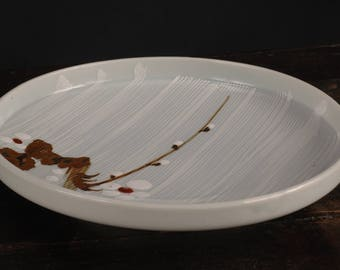 Footed Serving Plate, Japan