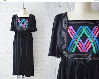 """SALE 1970s Jonathan Logan Bib Dress   Size S-S/M   35"""" B"""