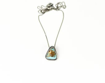 The Peaks Turquoise Necklace Southwestern Jewelry Handmade Turquoise Native American Style Jewelry
