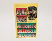 Vintage Classics Book Christmas Ghost Stories by Charles Dickens 1994 Paperback Anthology