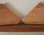 1 geometric corner shelf