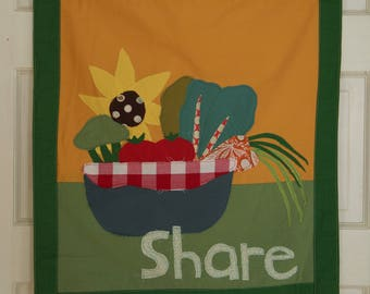 SHARE Wall Hanging