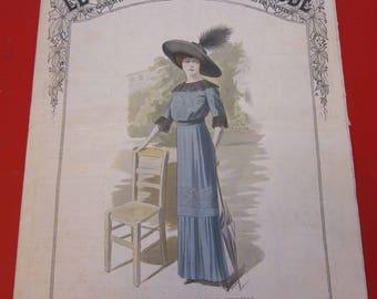 Magazine, Antique, Vintage, Fashions, Ads and Lots More: 1912, Le Moniteur De La Mode, French