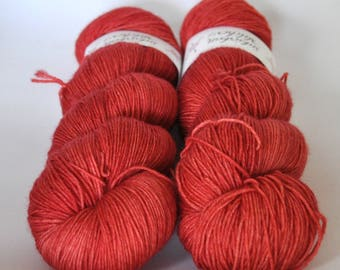Sock Yarn - Vermillion