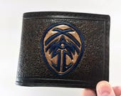 Bridge 4 / Stormlight Archives Hand Tooled Wallet