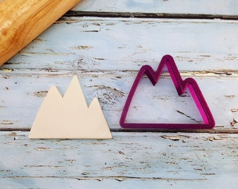 Mountains Cookie Cutter and Fondant Cutter and Clay Cutter