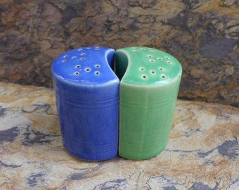 Vintage Modern Style Salt and Pepper Shakers.