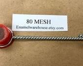 "SM-1 Small Sifter *** 80 MESH ***  1/2"" dia. X 1/2"" d."