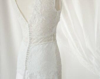 Bridal top Masha - Bohemian wedding dress