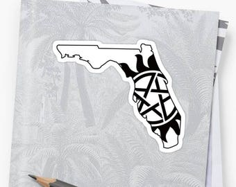 Vinyl Sticker - Florida Supernatural State