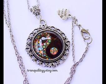 Yin Yang  Necklace/ Key Chain , Phenomena Spirit Filled , Balance, Harmony Yin-Yang Necklace/ Key Chain By: Tranquilityy