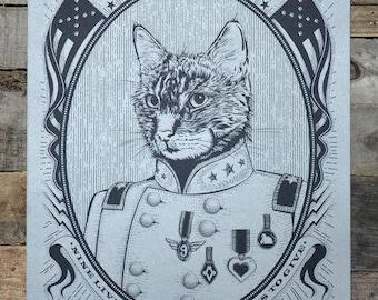 "General Cat POSTER 12"" x 18"""