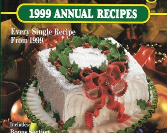 Hardback Book Southern Living 1999 Annual Recipes Every Single Recipe from 1999