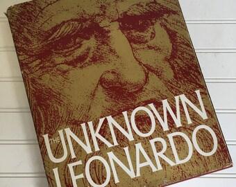 Unknown Leonardo Book - 1974 Hardback with Dust Jacket