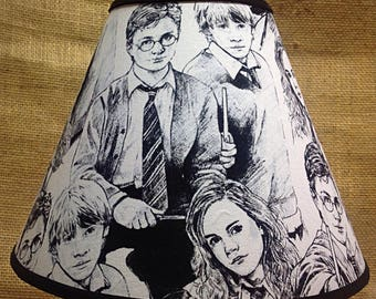 Harry Potter  Ron Hermione Lamp Shade