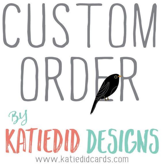 Custom order for Kate R - Banner printing