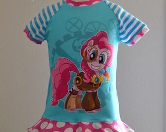 Steampunk Pinkie Pie Dress