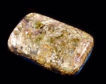 Orgone with Auralite Moldavite Fluorite, Arkansas Crystals, Phenacite Petalite Selenite Tourmaline, Elite Shungite, Rhodizite Silver (h39)