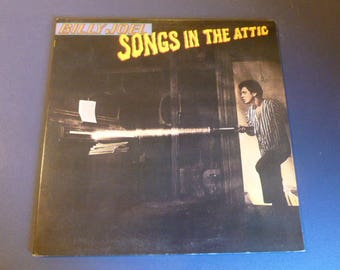 Billy Joel Songs In The Attic Vinyl Record LP TC 37461 Columbia Records 1981