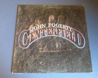 John Fogerty Centerfield Vinyl Record 1-25203 Warner Bros. Records 1985