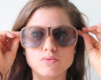 1950s 1960s Unisex Aviator Sunglasses....oversized. retro. hipster. festival. shades. big lens. party glasses. disco. twiggy. jackie o. mod