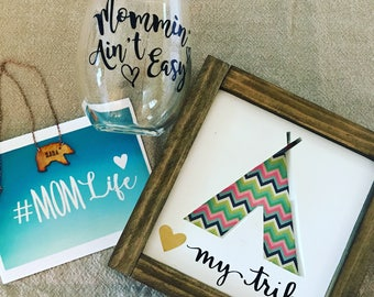 The Mom Life Gift Box for Moms and Moms-to-be