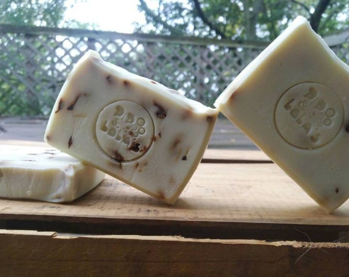 Rose By Any Other Name (Rose Castille Soap) - Palm Free, All Natural Soap, Handmade Soap, Barely-Scented Soap, Vegan Soap, Rose Soap