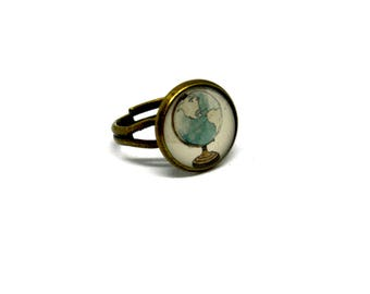 Bronze Ring - Vintage Style - Choose your favourite picture