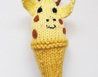 Giraffe Baby Rattle - Baby Toy