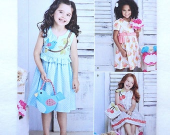 New Simplicity 8063 Girls Pattern Ruby Jean's Closet 3-8