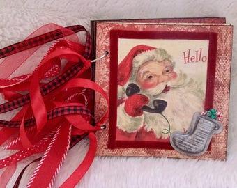 Vintage Christmas Album - Hello Santa! # 666