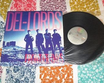 Del-Lords Frontier Days Record 17133 1984 vinyl vintage