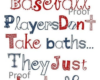 SALE Baseball Wall Art // Baseball Decor // Little League Art // Baseball