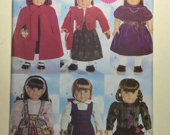 Vintage Butterick Pattern 5110 - Doll Clothes