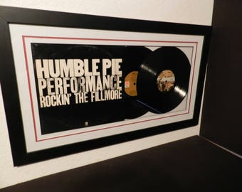 """Humble Pie""""Performance""""lp framed"""