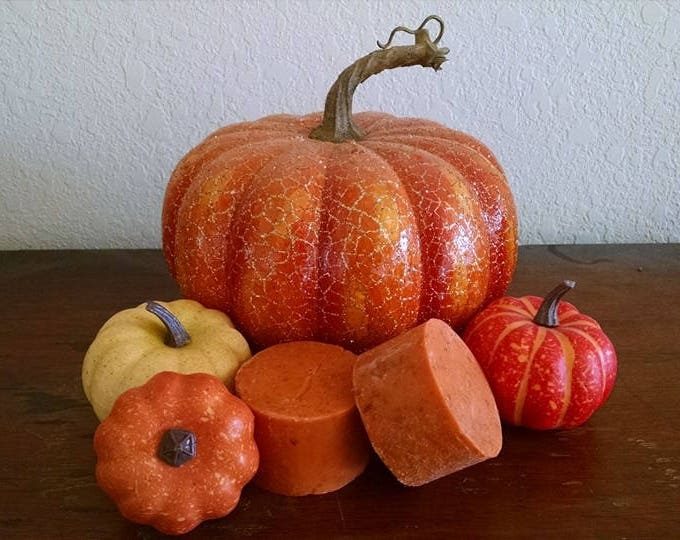 Autumn! Vegan Bath Soaps made from certified organic Olive Oil and Shea Butter