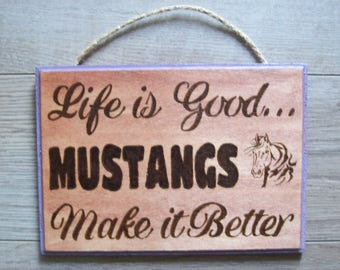"Customized ""Life is Good..."" Wall Plaque"