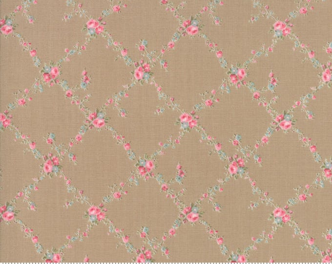 Caroline oatmeal 18651 16 by Brenda Riddle Designs for Moda Fabrics