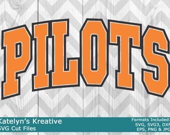 Pilots Arched SVG Files