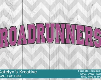 Roadrunners Arched SVG Files
