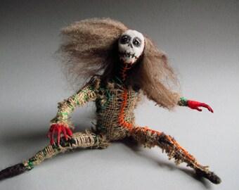 Zombie Girl Dead Eye Doll