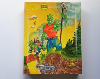New In Box 1991 Toxic Crusaders 200 Piece Puzzle