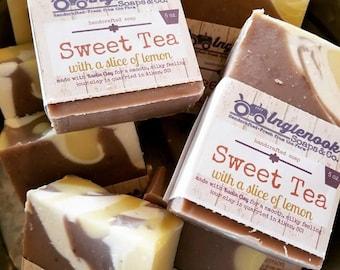 Tea Soap - 5 oz Inglenook Soaps Home Scents Home Goods Sweet Tea Soap Pthtlatate-Free