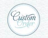 Custom order for Sarah - Striped Bass Baby Shower Invites