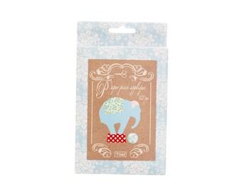 In the United States Tilda Circus Elephant Paper Piece Applique