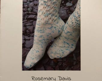 lavender buds sock pattern