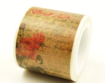 Love Potion - Japanese Washi Masking Tape - 35mm Wide - 5.5 yard