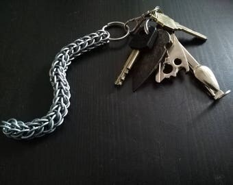 Full Persian Chianmail Keychain and Fidget Toy