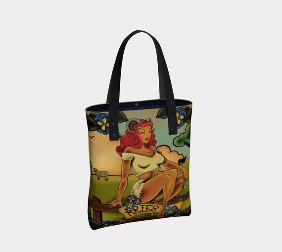 Aries - Tattoo PremiumTote Bag